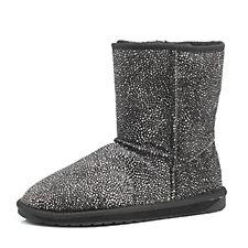 160085 - EMU Stinger Fur Lo Mid Calf Boots