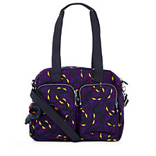 Kipling Kotecha Large Double Handle Zip Top Bag with Crossbody Strap