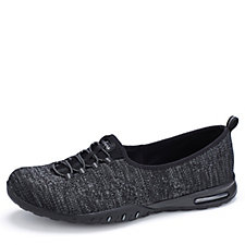 Skechers Easy Air Soft Knit Scooped Bungee Slip On Trainer