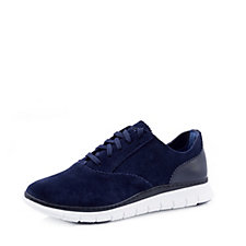 166785 - Vionic Orthotic Taylor Suede Trainer with FMT Technology