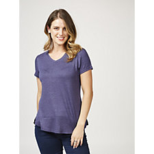 H by Halston Hacci Short Sleeve Top