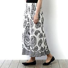 Casual & Co Paisley Print Skirt