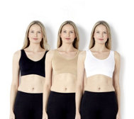 Rhonda Shear 3 Pack Seamless Leisure 'Ahh Bra' Essentials