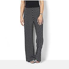 Coco Bianco Polka Dot Printed Palazzo Trousers