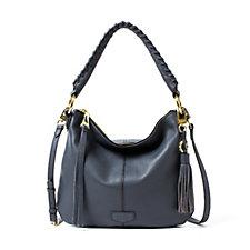 Aimee Kestenberg Deonne Leather Convertible Hobo Bag