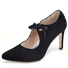 Capollini Coleen Mary Jane Ribbon Tie Shoe