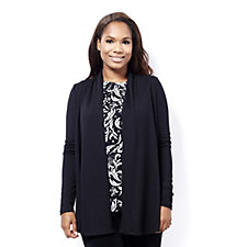 Kim & Co Soft Touch Long Sleeve Edge to Edge Cardigan