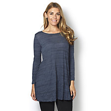 Yong Kim Crinkle Scoop Neck Tunic