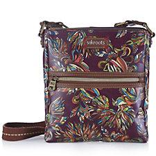 The Sak Artist Circle Tablet Crossbody Bag with Zip Top