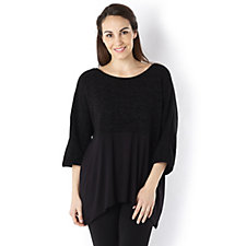Join Clothes Jersey 3/4 Sleeve Tunic