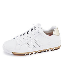 Skechers Street Sweet Step On It Perforated Trainer