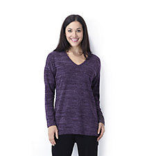 Kim & Co Cosy Knit High Low Tunic