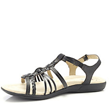Earth Spirit Freemont Leather Strappy Sandal