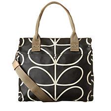 Orla Kiely Zip Messenger Bag