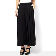 Andrew Yu Pleat Front Wide Leg Trousers