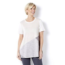 H by Halston Placement Print Tunic