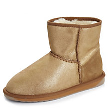 Emu Originals Collection Stinger Metallic Mini Water Resistant Sheepskin Boot