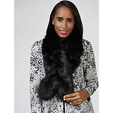 Kim & Co Faux Fur Long Collar