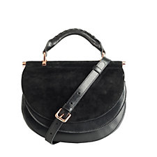 Amanda Wakeley The Presley Leather Crossbody Bag with Adjustable Strap