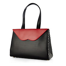 172188 - Lulu Guinness Lily Medium Leather Tote Bag