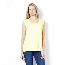Soft Knit Scoop Neck Camisole by Michele Hope