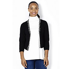 Ronni Nicole Shrug with Pearl Effect Embellishment Detail