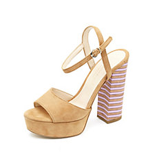 Mitarotonda Platform Peep Toe Sandal