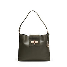 Amanda Wakeley The Quinn Medium Leather Hobo Bag