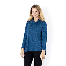 Mr Max Long Sleeve Cowl Neck Top