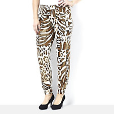 Nick Verreos Printed Relax Fit Trousers