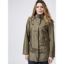 Centigrade Hooded Rain Mac