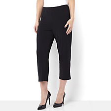 Cropped Jersey Trousers by Michele Hope
