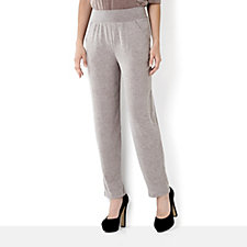 Kim & Co Melange Knit Trouser with Pockets