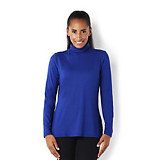 Mr Max Turtle Neck Top with Shirring Detail