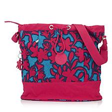 Kipling Dalila Gathered Top Duffle Bag with Front Zip Pockets