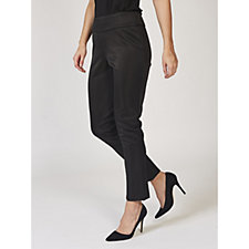 Ronni Nicole Metallic Effect Straight Leg Trousers