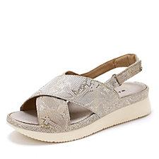 171891 - Manas Cross Vamp Flatform Sandal