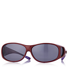 JPE Fitover Two Tone Sunglasses with Polarvue & Case