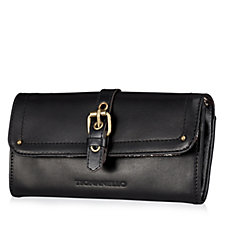 Tignanello Glazed Vintage Smooth Leather Flap Wallet with RFID Protection