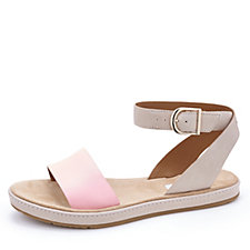 Clarks Romantic Moon Sandal with Ankle Strap