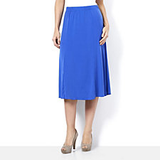 Wide Waistband Jersey Skirt by Michele Hope