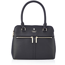 Modalu England Small Pippa Leather Grab Bag with Shoulder Strap