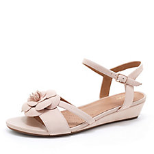Clarks Parram Stella Sandal with Wedge Heel