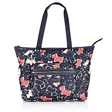 Radley London Speckle Dog Large Zip Top Workbag