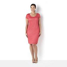 Tiana B Lace Knit Sleeveless Swing Dress