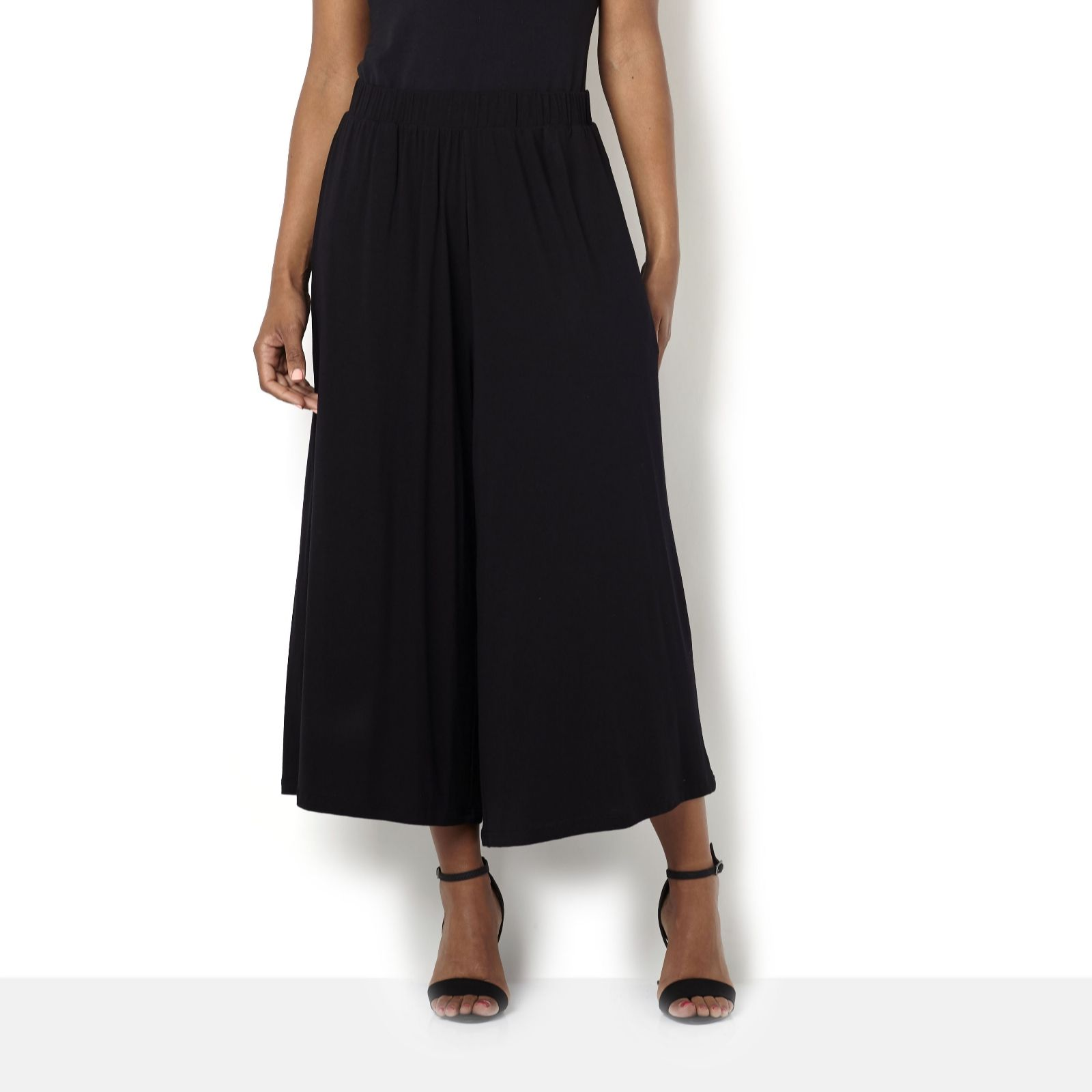 Join Clothes Jersey Gaucho Trousers