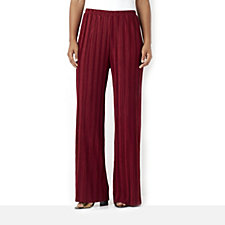 Chelsea Muse by Christopher Fink Pleated Jersey Palazzo Trouser