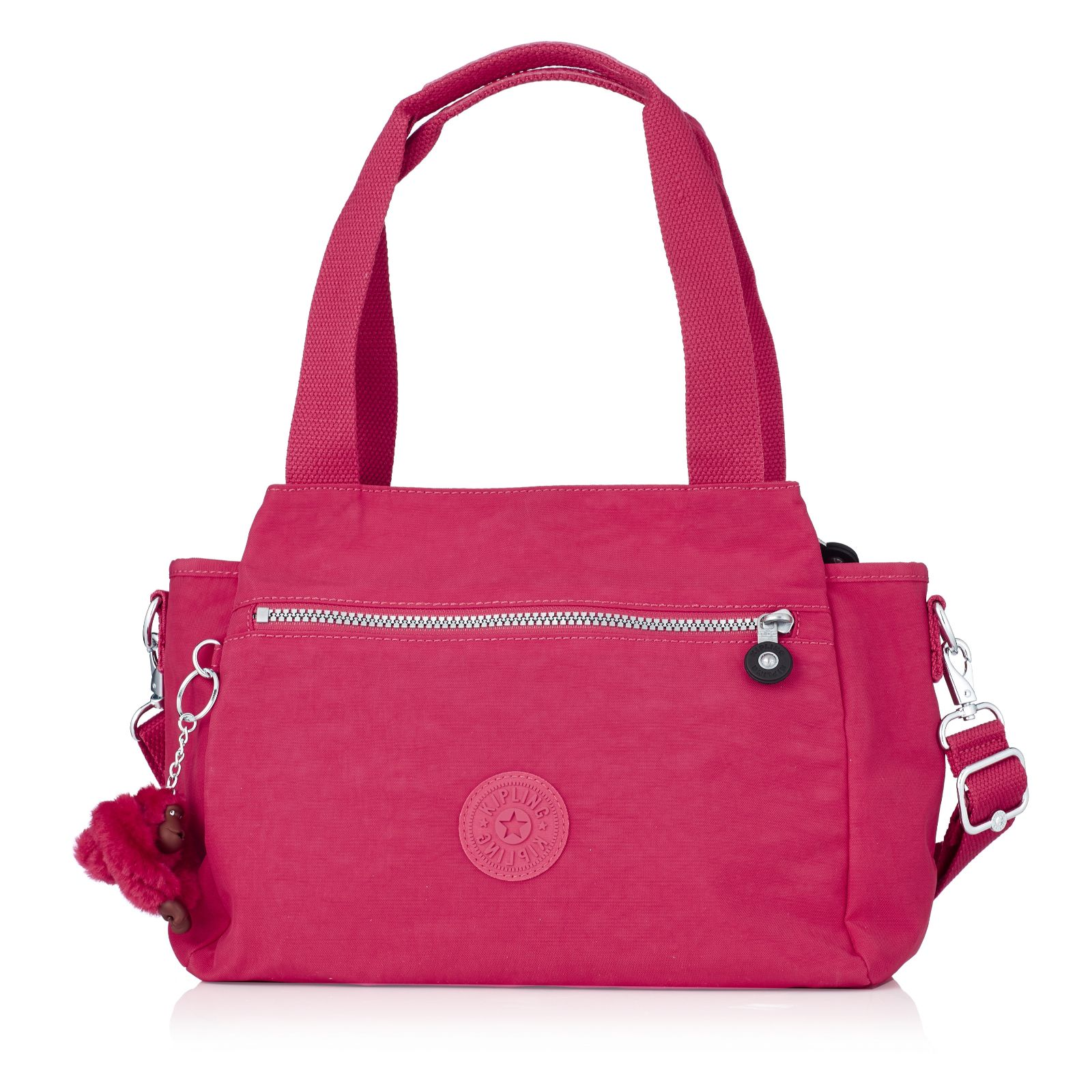 Kipling Elysia Medium Triple Compartment Shoulder Bag With Crossbody Strap Page 1 Qvc Uk