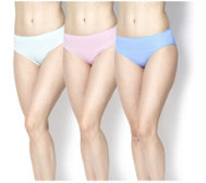 Rhonda Shear 3 Pack Seamless High Cut Ahh Briefs