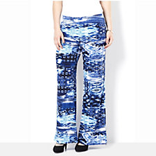 Mr Max Printed Jersey Trouser